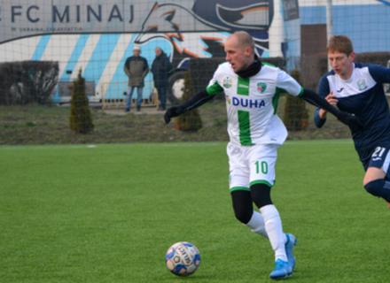 Минай у домашньому матчі переміг команду з Пряшева