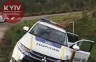 Закарпатські поліцейські під час погоні розбили службовий автомобіль