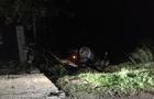 На Виноградівщині автомобіль перекинувся на дах - двоє постраждалих