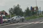 На кордоні між Мукачівським та Ужгородським районом зітнулися два автомобіля