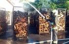 На Перечинщині горіло деревообробне підприємство