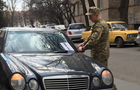 Колеса на автомобілях в центрі Ужгорода могли порізати співробітники СБУ
