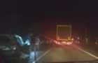 На Іршавщині легковий автомобіль зіштовхнувся з мікроавтобусом