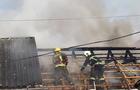 У Виноградові згоріла господарська споруда на території будинку-інтернату
