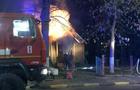 У Тячеві згоріла церковна капличка