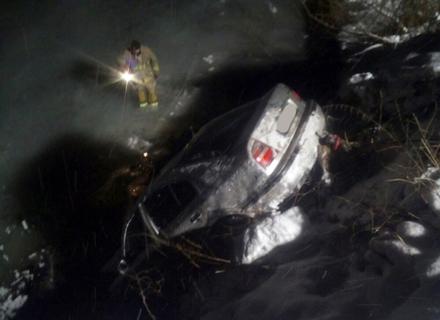 На Міжгірщині автомобіль впав у річку. Водій зник