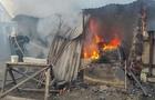 На Хустщині під час пожежі постраждала жінка