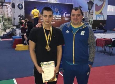 Закарпатець став Чемпіоном України з важкої атлетики
