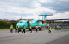 Сьогодні в Ужгороді літак з Києва вперше приземлявся з використанням навігаційної системи