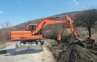 На Закарпатті почався ремонт дороги до курортного села Лумшори на Перечинщині