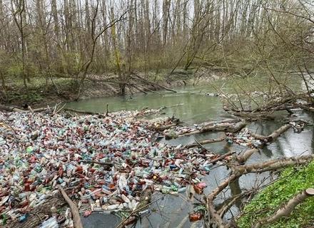 Сміття із Закарпаття досі пливе річками до Угорщини