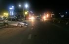 Вночі у Мукачеві зіштовхнулися два автомобіля