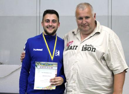 Ужгородський фехтувальник став чемпіоном України U-23