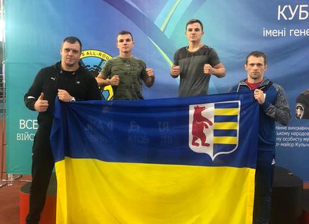 Закарпатські спортсмени взяли участь у Кубку України з військово-спортивного багатоборства