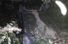 На  Закарпатті автомобіль перекинувся на дах