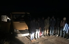 На Закарпатті затримали повний мікроавтобус з нелегалами