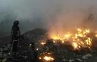 Рятувальники майже дві години гасили вогонь на сміттєзвалищі біля Сваляви