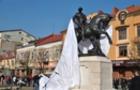 У Мукачеві відкрили кінну скульптуру Святому Мартину