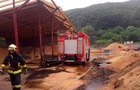 У Перечині пожежа сталася на підприємстві з виробництва паливних брикетів