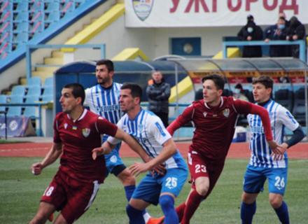 Ужгород виходить на перше місце у Другій лізі