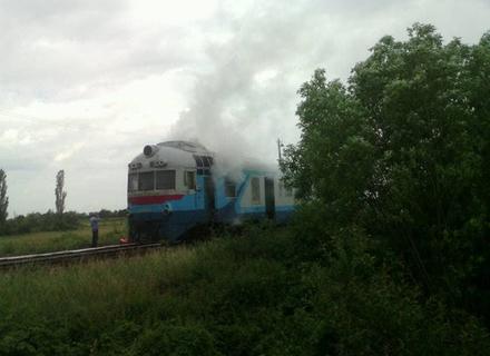 На Закарпатті горів пасажирський потяг через застаріле обладнання (ФОТО)