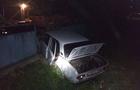 На Ужгородщині автомобіль проломив паркан у дворі приватного будинку