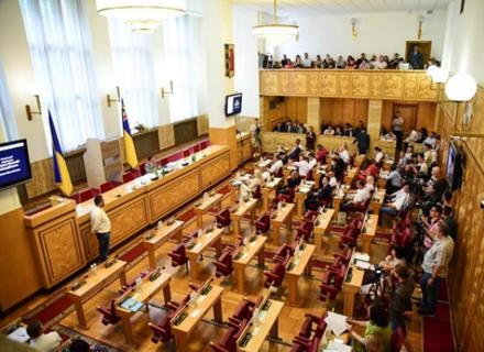Депутати зняли з посади першого заступника голови Закарпатської облради Андрія Шекету