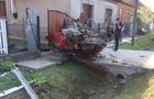 На Мукачівщині автомобіль вдарився в місток і перекинувся на дах (ФОТО)