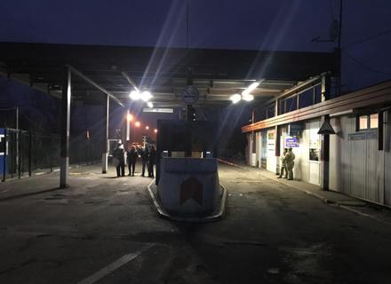 """Через пожежу майже годину не працював КПП """"Вилок"""" на держкордоні з Угорщиною в Закарпатті"""