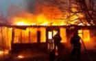 На Закарпатті згорів будинок разом з господарем. Пожежників не було