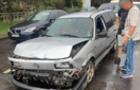 В Ужгороді патрульні притягнули до відповідальності нетверезого водія, який вчинив ДТП на проспекті Свободи
