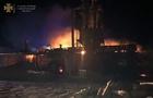На Тячівщині горіло підприємство з виробництва паливних брикетів