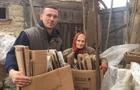 На Берегівщині 90-річна бабуся назбирала 400 кілограмів картону і здала його на макулатуру