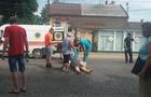 У центрі Мукачева автомобіль збив жінку