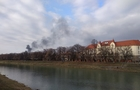 У центрі Ужгорода - крупна пожежа (ФОТО)