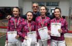 Ужгородські фехтувальниці перемогли на кадетських змаганнях
