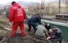 На Закарпатті мікроавтобус з людьми впав на залізничну колію (ФОТО)