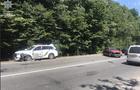 На Закарпатті в аварію потрапив поліцейський автомобіль