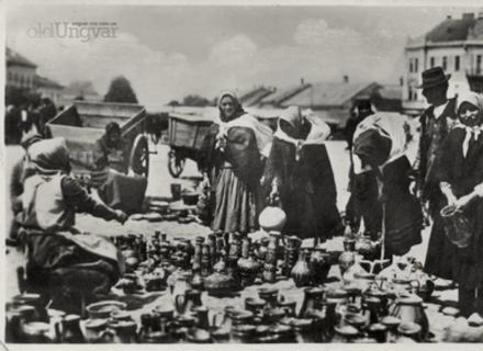 За Чехословаччини та Угорщини сучасна площа Петефі в Ужгороді завжди була базарною (ФОТОАРХІВ)