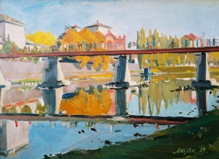 Як ужгородський словак Карел Якубек став заслуженим художником України