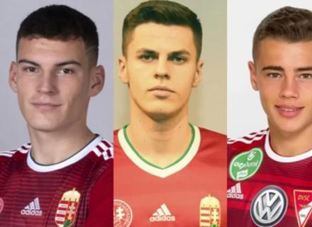 Три закарпатські футболісти зіграють у складі молодіжної збірної Угорщини