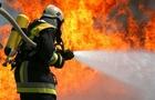 На Березнянщині вогонь знищив великий склад та техніку