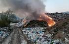 Біля Рахова горіло скандальне сміттєзвалище на березі річки Тиса