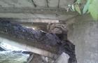 На Рахівщині завалилася частина мосту на автомобільній дорозі (ФОТО)