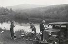Якими були пікніки на Синевирському озері до Другої світової війни (ФОТО)