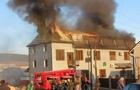 На Закарпатті згорів готель-ресторан
