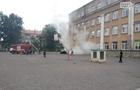 Що загорілося в школі в Ужгороді