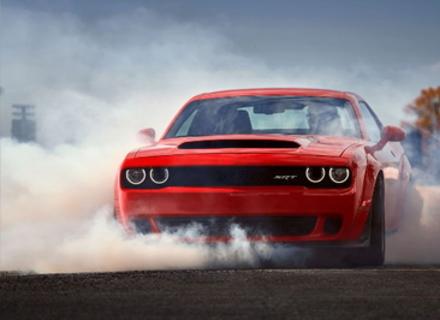 Найшвидшим авто став Dodge Challenger SRT Demon