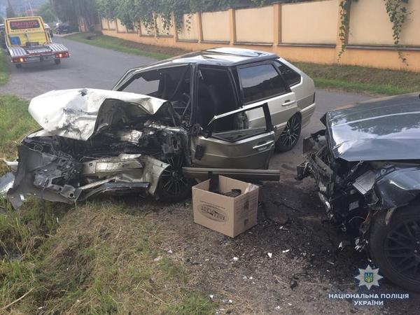 Моторошна автоаварія на Мукачівщині
