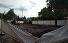 В Ужгороді знову забрали частину газону під будівництво (ФОТО)